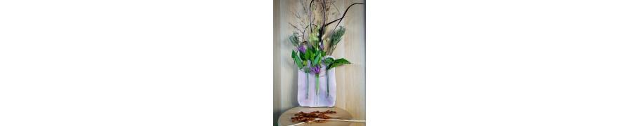 Ozdobne świeczniki, wazony i pojemniki z drewna i żywicy – FloralaFun